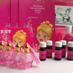 Thuisworkshoppakketten zelf parfum maken, hartjes thema