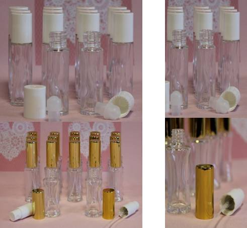 Lege parfumflesjes