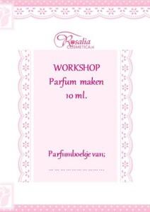 Low budget thuis workshoppakket zelf parfum maken